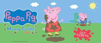 peppa pig muddy puddles live