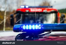 100 Blue Fire Trucks Lights Save Property Lives Stock Photo Edit Now