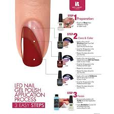 red carpet manicure sapphire uv led polish free shipping at