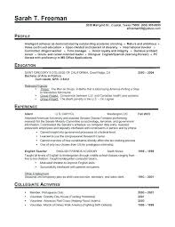 Perfect Resume Samples Example Of Examples 2016