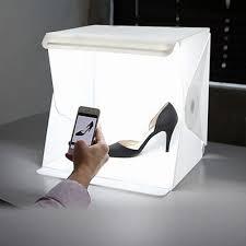 100 Studio Tent Folding Photo Studio Shooting With LED Light Room Photo Photography Lighting Backdrop Cube Box Mini Stand Portable