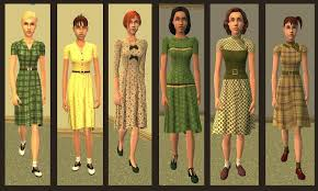 Half A Dozen New Dresses And Eight Light Suits Add To The Teen Girls Clothing Choices For Casual Or Dress Wear