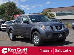 New 2018 Nissan Frontier SV V6 Crew Cab Pickup In Salt Lake City ...