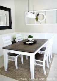 Simple Kitchen Table Centerpiece Ideas by 14 Gorgeous Rustic Makeovers And Decor Ideas Diy Dining Table