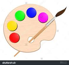 474x441 Painters Pallet Clip Art
