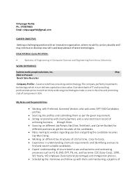 Vidyasagar Bench Sales Resume Reddy Ph 9739379655 Email Vidyasagar916gmail CAREER