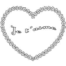 Coloriage Jaime Ma Maman A Imprimer Coloriage Maman Je T Aime à