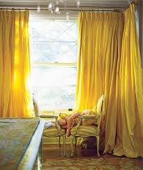 Floor To Ceiling Tension Rod Curtain by Guide To Curtains And Window Treatments Real Simple