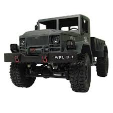 HengLong 1/16 4WD High-Imitation RC U.S. Military Truck-Green Color