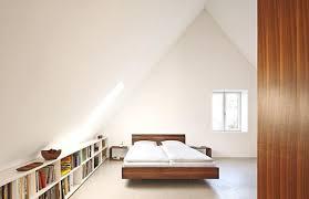 architektenhäuser geräumiges schlafzimmer unterm dach
