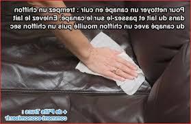 astuce pour nettoyer un canapé en cuir entretien canapé cuir meilleurs produits l astuce pour nettoyer