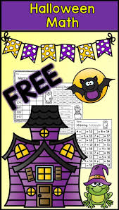 Halloween Multiplication Worksheets 5th Grade by Best 25 Halloween Math Worksheets Ideas On Pinterest Halloween