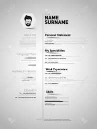 Minimalist CV, Resume Template With Simple Design, Vector Cv Template Professional Curriculum Vitae Minimalist Design Ms Word Cover Letter 1 2 And 3 Page Simple Resume Instant Sample Format Awesome Impressive Resume Cv Mplate With Nice Typography Simple Design Vector Free Minimalistic Clean Ps Ai On Behance Alice In Indd Ai 15 Templates Sleek Minimal 4p Ocane Creative