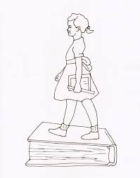 Image Coloring Ruby Bridges Pages For Homework