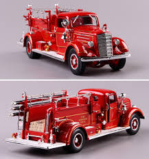 100 Model Fire Truck Kits LNL 1938 124 Mark Type75 Fire Truck Model Decorationin