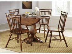 Shop For Liberty Furniture Drop Leaf Pedestal Table