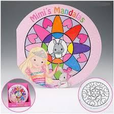 Top Model My Style Proncess Mandala Colouring Book