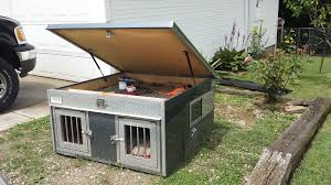 Garmin Alpha, Dog Box, And Above Ground Kennel All For Sale. - The ... Alinum Dog Boxes The Hunter Series By Owens Custom Design Box Sled Dog Looking Out Of The Window A Box On Truck Hunting Pinterest Dogs Garmin Alpha And Above Ground Kennel All For Sale Lest See Home Made Boxs Biggahoundsmencom Dimeions Like New From Ft Michigan Sportsman Online Ukc Forums Cutter Bays Built Escape Ordinary