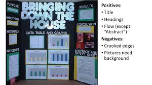 Science Fair Display Boards The Good Bad And Ugly 2 Positives