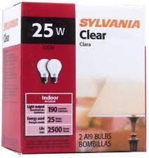 sylvania 25w light bulbs ebay