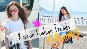 Fashion Trends In Korea Summer 2016