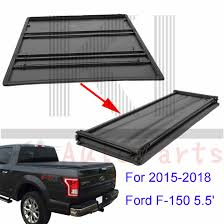 100 Truck Bed Length 55FT Soft TriFold Tonneau Assemble Cover For 20152018 Ford F150