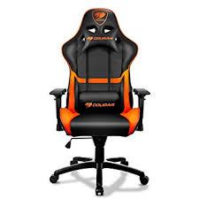 Akracing Gaming Chair Blackorange by Amazon Com Cougar Armor Gaming Chair Orange Sports U0026 Outdoors