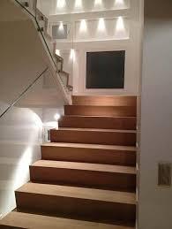 escalier en bois avec garde corps en verre zanella villa