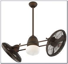 Flush Mount Dual Motor Ceiling Fan by Outdoor Oscillating Ceiling Fans Mounted Dual Head Fan