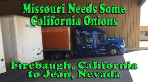 100 Mckinley Trucking Missouri Needs Some California Onions Firebaugh To Primm NV My