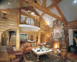 Cabin Style Homes Colors Log Home Interior Decorating Ideas Log Home Bedroom Colors