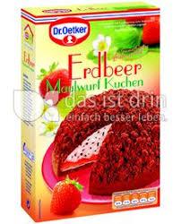dr oetker erdbeer maulwurf kuchen 232 0 kalorien kcal