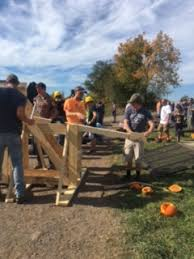 Clarence Pumpkin Farm Trebuchet by Headlines U0026 Features Detail Page