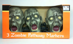 Halloween Pathway Lights Stakes by Zombie Product Review Zombie Pathway Marker U2013 Zombie Head Yard