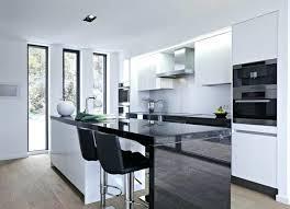 cuisine blanc et noir cuisine noir et blanc idées décoration intérieure farik us