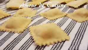 raviolis fait maison pate à ravioles en vidéo amour de cuisine