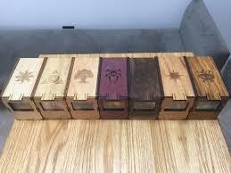 magic edh deck box my edh decks and custom made deck boxes album on imgur