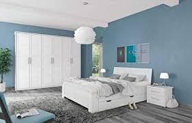 schlafzimmer komplett set a samoa 5 teilig farbe weiß