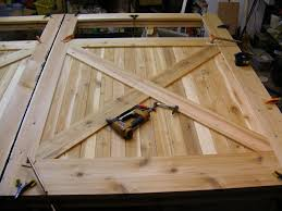 simple how to make a garage door wooden garage doors house plan