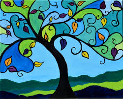 Pumpkin Patch Winchester Virginia by Stained Glass Tree Paint Nite Event