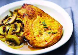 recette de côtelettes de porc au curcuma recettes diététiques