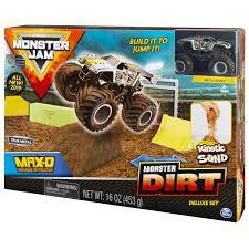 100 Monster Truck Jump Jam Max D Dirt Deluxe Set Featuring 16oz Of
