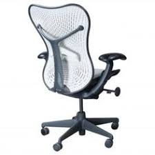 Herman Miller Mirra Chair Used by Steelcase Think Task Chair Red Line Pattern Nolstore Style In