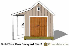 10x10 Shed Plans With Porch Cape Cod Shed