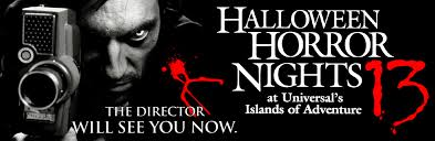 Halloween Horror Nights Frequent Fear Pass by Hhn 13 Horror Night Nightmares