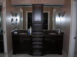Diy L Shaped Bathroom Vanity by Bathroom Bathroom Double Vanity And L Shaped Brown Coating