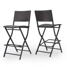 Noble House Margarita Foldable Wicker Outdoor Bar Stool (2-Pack ... Folding Chair Stool Fniture Stools Fwefbgfk Vintage Canvas Camp Chairs Wooden Etsy Picking With Back Support Whosale Buy Morph White Simply Bar Woodland Camouflage Military Deluxe With Pouch Outdoor Fishing Seat For Breakfast Stools High Chairs In De13 Staffordshire For 600 Folding Camping Stool Walking Fishing Pnic Leisure Seat House By John Lewis Verona At Partners Anti Slip 2 Tread Safety Step Ladder Tool Camping Eastnor Jmart Warehouse
