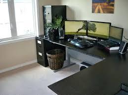 desk techni mobili l shaped glass computer desk canada glass l