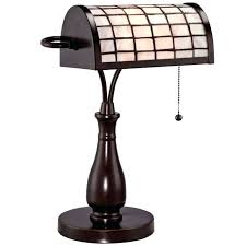 Bankers Table Lamp Green by Desk Bankers Lamp With Green Shade Brass Finish Office Reading