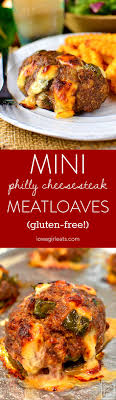 Mini Philly Cheesesteak Meatloaves Are A Fun And Gluten Free Dinner Recipe Both Kids